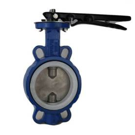 Wafer Butterfly Valve PTFE Sealing