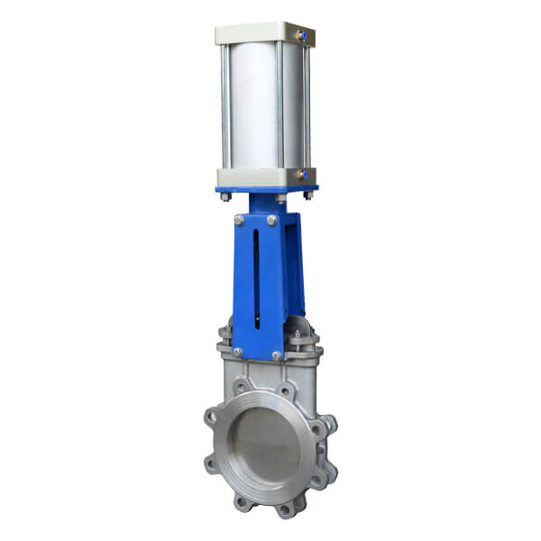 Pneumatic Wafer Knife Gate Valve
