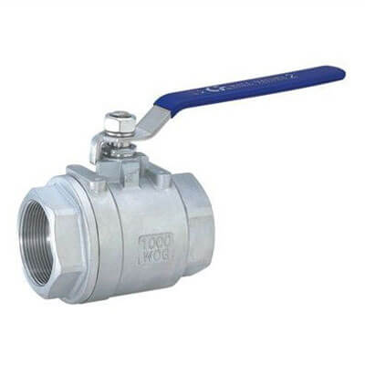 Two Section Type Ball Valve