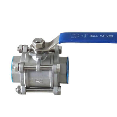 Three PC Type Tread Ball Valve
